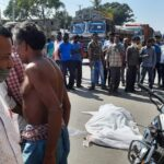 Biker died in road accident near Nuadihi of Brajrajnagar