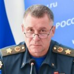 Russia's Emergencies Minister Yevgeny Zinichev died during a drill in Arctic